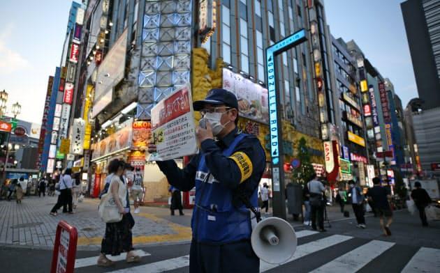 都内の繁華街「休業もう無理」 要請の実効性に限界