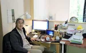 仙波さんは那須町の別荘から大学の授業や会議をこなしている