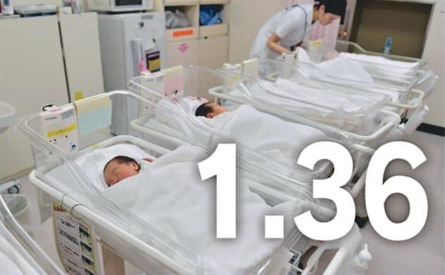 19年の出生率1.36、12年ぶり低水準 少子化加速