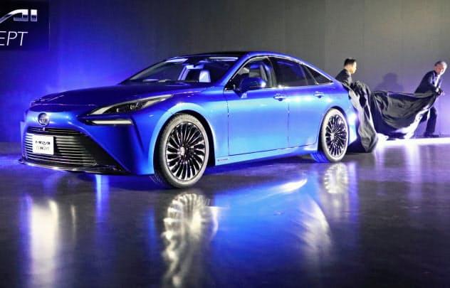 トヨタが2020年末に発売予定の新型FCV「ミライ」のコンセプト車