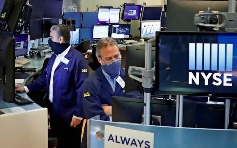 米株には強気な見通しが増えている(ニューヨーク証券取引所)=ロイター