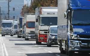 宅配以外の貨物の輸送量は低迷が目立つ