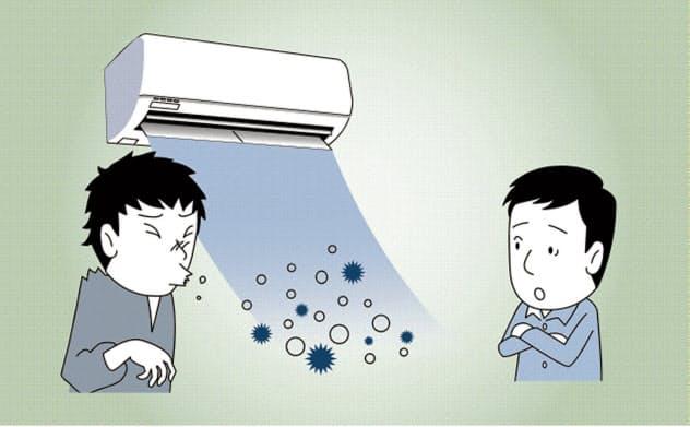 夏のエアコン、飛沫拡散に注意 専門家は換気呼びかけ