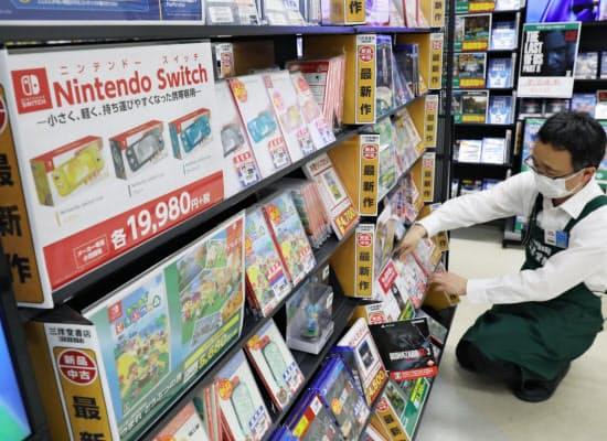 巣ごもりでは家庭用ゲームの販売が大きく伸びた
