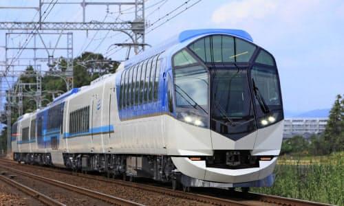 近畿日本鉄道は全車両に抗ウイルス・抗菌加工をする(写真は伊勢志摩特急「しまかぜ」)