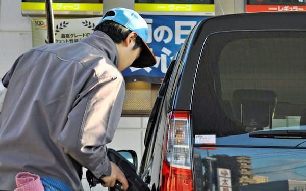 新型コロナでガソリンの需要減は続く(都内の給油所)