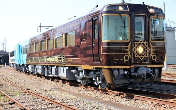 7月にデビューが決まったJR四国の観光列車「志国土佐 時代の夜明けのものがたり」