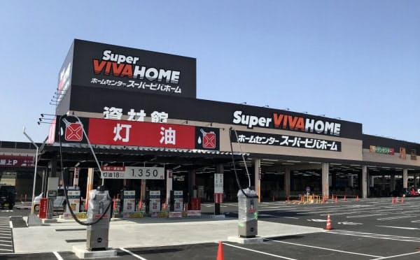 LIXILはビバの売却で住宅設備事業に経営資源を集中させる(埼玉県内の店舗)