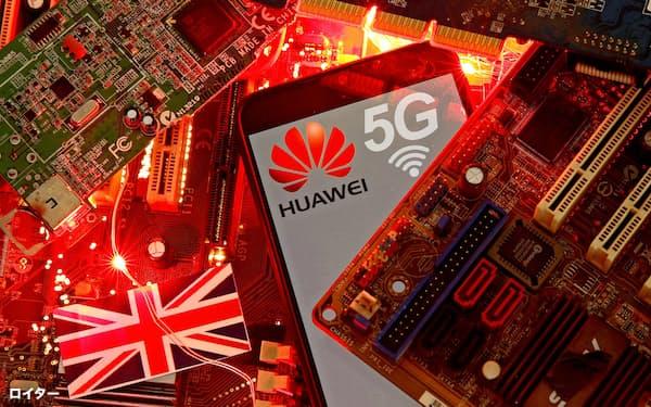 中国の通信機器大手、華為技術(ファーウェイ)の次世代通信規格「5G」参入も警戒論の背景にあるとみられる=ロイター