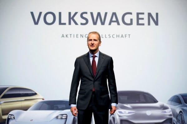 VWのディース社長は18年に就任して以来業績を伸ばしてきたが…=ロイター