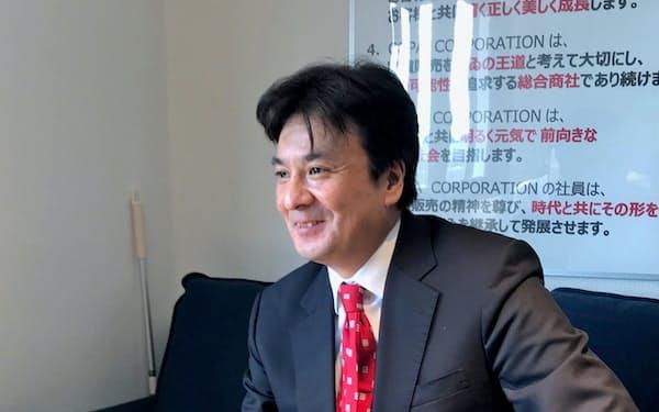 コパ・コーポレーションの吉村泰助社長