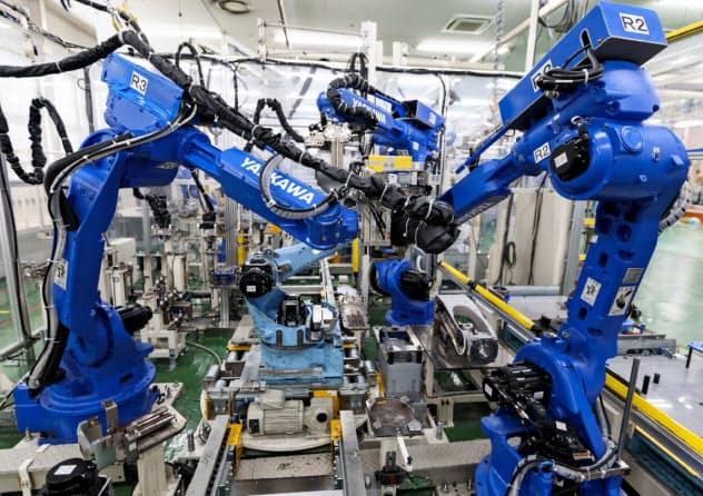 安川電機は「暗黙知」の共有化で次世代製造業への進化を狙う=同社提供