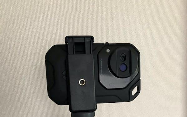 いちぐーが開発した小型タイプのサーモカメラ