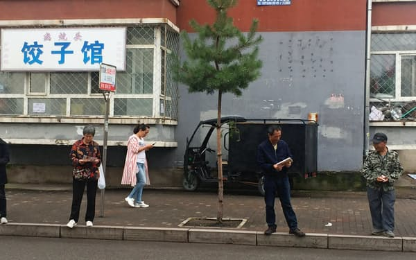 高齢化で中国の社会保障支出は急拡大する(19年、黒竜江省)