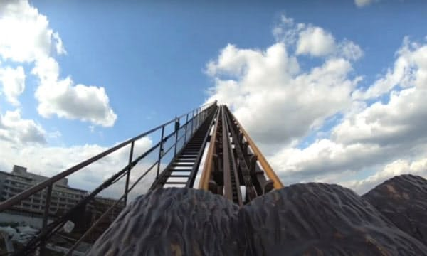 「おうち遊園地」ではよみうりランドのジェットコースター「バンデット」などの動画を公開している