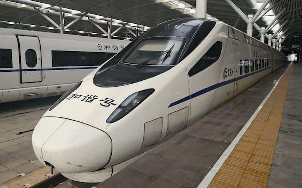 中国新幹線の総距離は日本の約10倍に上る(遼寧省大連市)
