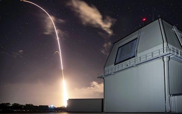 米ハワイ州カウアイ島にある地上配備型迎撃システム「イージス・アショア」の米軍実験施設(2018年12月、米陸軍提供)