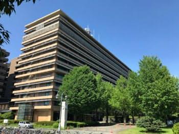 熊本県はサプライチェーンを見直す企業の誘致に力を入れる(熊本市の熊本県庁)