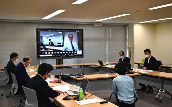 産業技術総合研究所などは「東京湾岸ゼロエミッションイノベーション協議会」の初会合を開いた(16日、東京都千代田区)