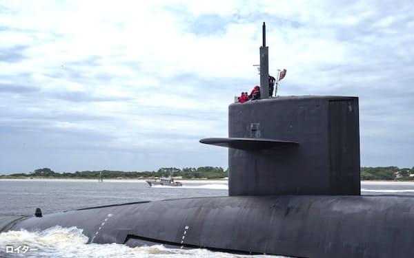 米海軍潜水艦向けの高張力鋼で30年以上の品質不正がわかった=ロイター