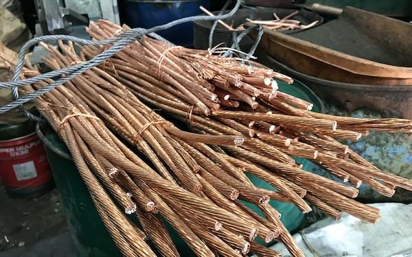 伸銅品の原料となる銅スクラップも値上がりした。