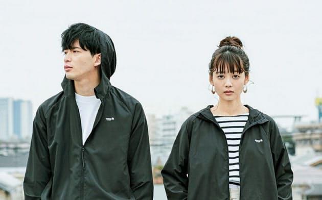 宝島社がセブンイレブン限定で販売したジャケット。北欧ブランドと組んだ