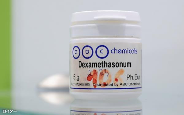 抗炎症薬「デキサメタゾン」はぜんそくなどの治療薬として使われている=ロイター