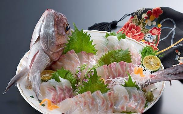 全漁連の通販「ギョギョいち」で販売している「伊勢まだい 姿つくり」。来年3月まで送料無料