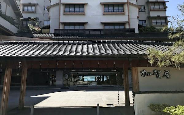 加賀屋(石川県七尾市)