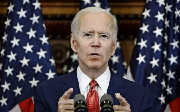 同盟国との関係を重視するバイデン氏が米大統領選で勝利すれば、温暖化対策やイラン核合意などで進展があるかもしれない=AP