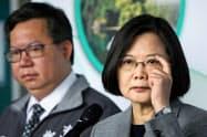 台湾・蔡英文総統の米接近策に中国は反発している=ロイター