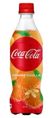 日本コカ・コーラの「コカ・コーラ オレンジバニラ」。米国では定番商品となった