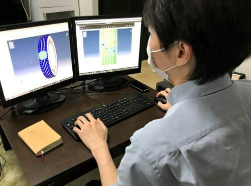 TOYO TIREは在宅でタイヤのシミュレーション実験をできるようにした