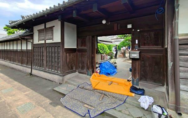 南都銀行は古民家再生などを通じ、地域経済の活性化を後押しする(奈良県田原本町)