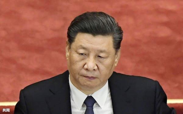 習近平指導部は「香港国家安全法」の制定手続きを進めている=共同