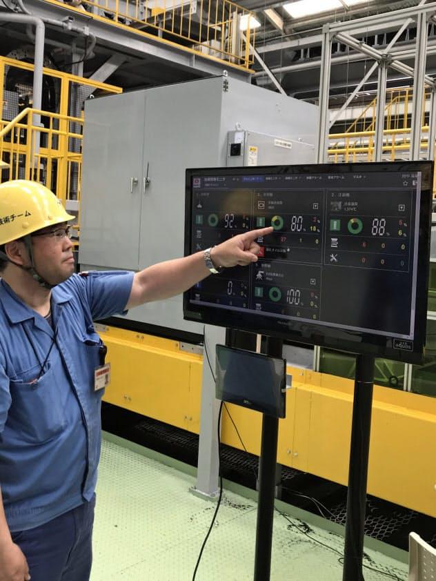 新東工業は、鋳物や金型の製造設備の稼働状況を確認できるサービスを始める