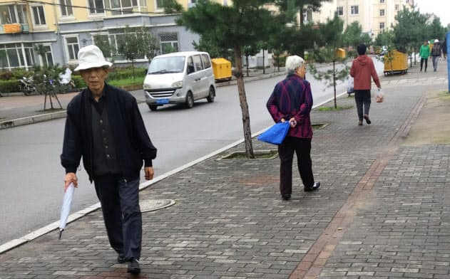 中国の北方では高齢化と人口減少が進む(黒竜江省)