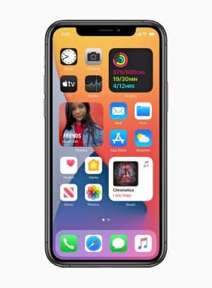 米アップルは「iOS14」でウィジェットに対応し、利用者がホーム画面をカスタマイズできるようにする。