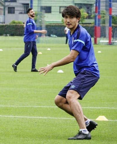 5月26日に練習を再開したFC東京。ACLに参加しているクラブはJリーグの試合を消化しきれなくなる恐れも(FC東京提供)=共同