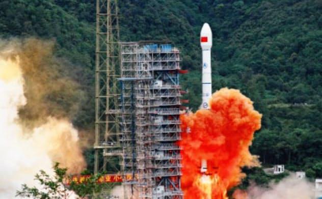 中国版GPS「北斗」の最後の衛星の打ち上げは成功した(中国衛星導航システムのサイトから)