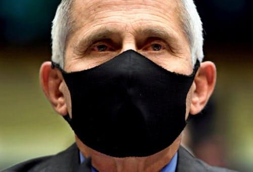 ファウチ氏は23日、議会下院で新型コロナの感染拡大に懸念を示した=ロイター