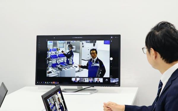 オムロンは工場の自動化をオンライン上で提案する