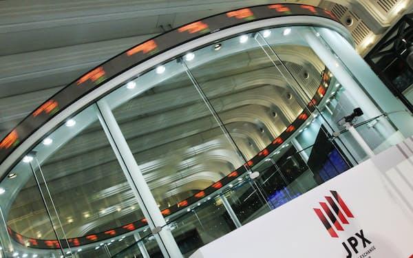 24日に新規上場した3銘柄は投資家の人気を集めた(東京証券取引所)