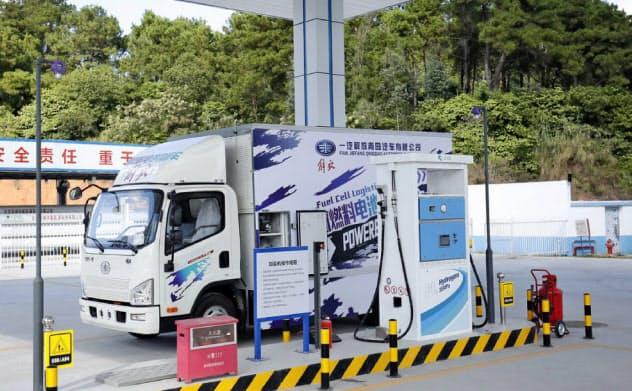 仏山市南海区は2017年に中国で初めて商業ベースの水素ステーションを設置した