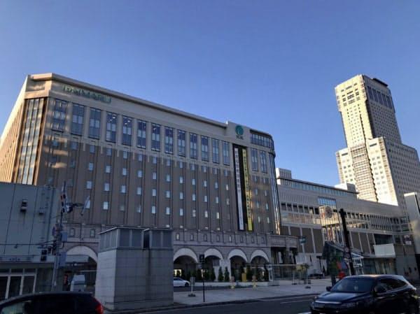 大丸札幌店(札幌市)も5月は前年同月比で売り上げが8割超落ち込んだ。