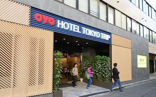 OYOは2019年にホテル事業などを始めたが振るわなかった(東京都荒川区のホテル)