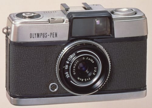 オリンパスが1959年10月に発売したカメラ「ペン」