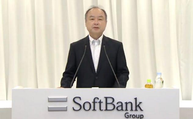 ソフトバンクG、4~6月純利益1兆2557億円 「株主価値増えた」