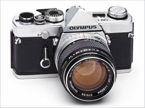 1973年に発売した「OM-1」は小型・軽量でヒットした