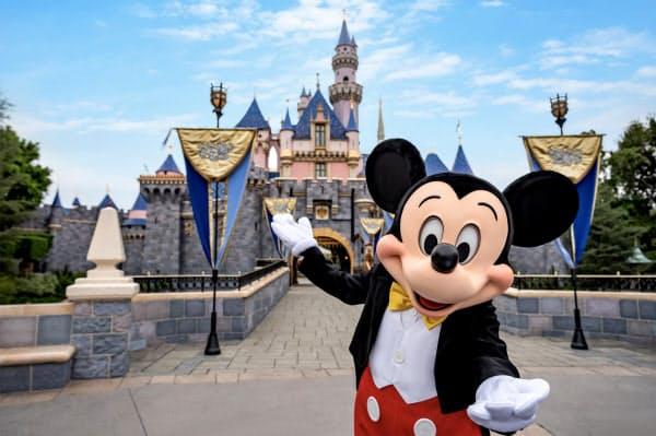 米カリフォルニア州のディズニーランドは7月17日に計画していた再開を先延ばしする=ディズニー提供